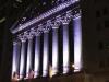 NY Stockexchange by night